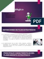 Definicion de Plan Estrategico
