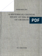 Zvi, Ehud Ben - A Historical-Critical Study of the Book of Obadiah (1996) +.pdf