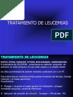 TRATAMIENTO DE LEUCEMIAS