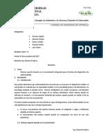 Resumen de Sistema Experto de Diagnostico Medico