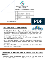 CG Assignment 2 Bankruptcy of Parmalat Company