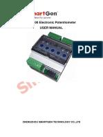 Smartgen elec potensiometer