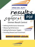 Result Control