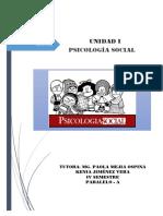Consulta Inicial - Tarea Psicologia Social