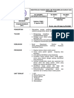 SKP-I-3 Prosedur Identifikasi Pasien Sebelum Pengambilan Darah