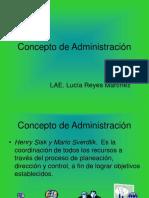 Concepto de Administración (1)