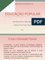 Educação Popular