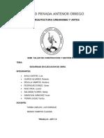 informe construccion y gestion