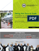 Taking Net Zero to Scale-Framework for Commercial-Institutional Buildings
