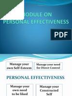 Personnel Effectiveness