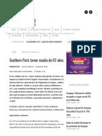 Print - Southern Perú_ Breve Reseña de 62 Años