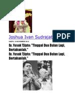 Joshua Ivan Sudrajat S