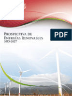Prospectiva de Energ as Renovables 2013-2027