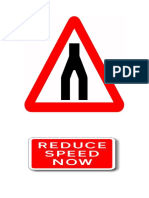 Reduced Your Speed