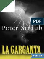 La garganta - Peter Straub.pdf