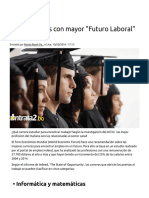Cinco Carreras Con Mayor _Futuro Laboral_ _ Blog Contrata2.Bo