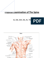 Physical Examination of Spine (TN)