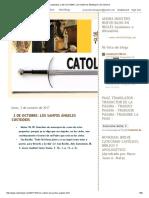 Catolicidad_ 2 de Octubre_ Los Santos Ángeles Custodios