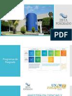 Presentación Reducida Posgrado IMTA y UNAM