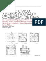 Centro Cívico, Administrativo y Comercial de Lima - José García Bryce