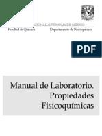 Manula de Lab Oratorio - des Fisiquimica