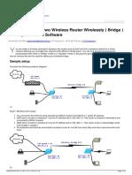 Bridge Type Router Series