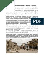 Problema de Los Fenómenos Naturales en México Por El Terremoto
