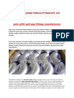 Astm a234 Wp5 Pipe Fittings Manufacturers