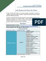 Ficha Tcnica de Manejo de Bases de Datos