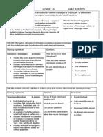 lesson plan 1  e5 model