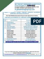 ISO 17025 2017 Document Kit for Calibration Laboratory