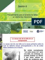 PROCEDIMIENTO PARA EL ANALISIS DE FALLA DE ELEMENTOS MECANICOS