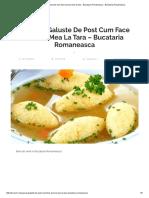 Supa de galuste de post cum face bunica mea la tara - Bucataria Romaneasca - Bucataria Romaneasca.pdf