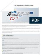 Europol Operation Dragon Delivers Major Blow to Organised Crime