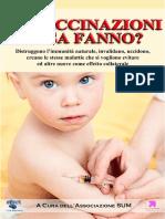 E-book Le Vaccinazioni Cosa Fanno