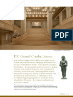 ITC Grand Chola - Chennai (Fact Sheet)