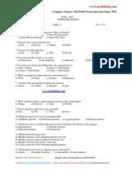 12th Public Exam Question Paper 2010 Computer Science June