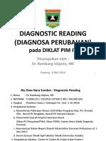 Diagnostic Reading Pim IV Prov (80515)