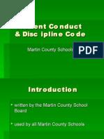 Student Conduct & Discipline Code