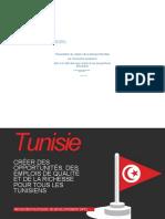 Tunisie Une Revolution Banque Mondiale