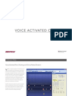Voice Activated Charting