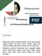 Thalassemia ppt