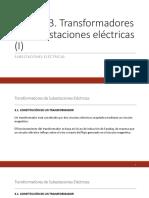Transformadores de Subestaciones Eléctricas i