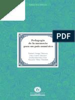 Pedagogia de La Memoria Para Un País Amnésico (Prólogo)