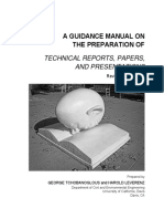 A GUIDANCE MANUAL ON the preparation of technical reports, papers and ppt.pdf