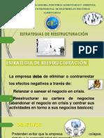 Estrategias de Reestructuración