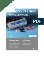 Cargador Baterias Tronic T4XSE