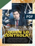 Nota de Tapa - Ministro Duran1 #365_BASE