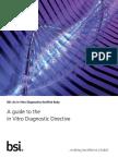 BSI Md Ivd Diagnostic Directive Guide Brochure UK En