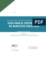 Guia Exportador Servicios Creativos